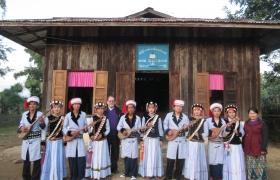 Lashi dance group, Putao Myanmar