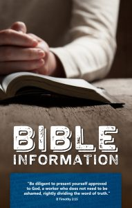 Bible Information - Sept 2016 Covers v2.cdr