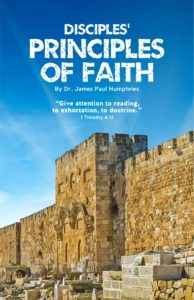 Disciples Principles of Faith - front cover