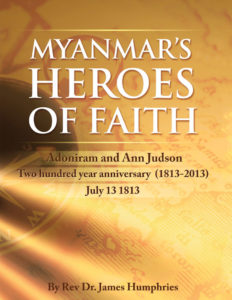 Myanmars Heroes of Faith - front cover