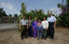 Hkaw Win Family Myanmar